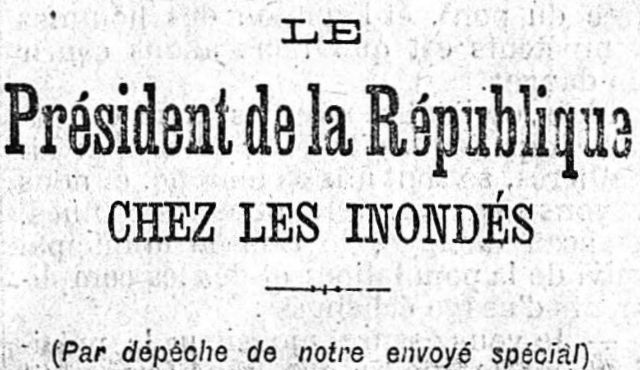 Titre article Figaro 2 octobre 1907